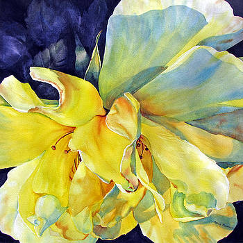 Yellow-Rose-in-Provence by Nancy Newman