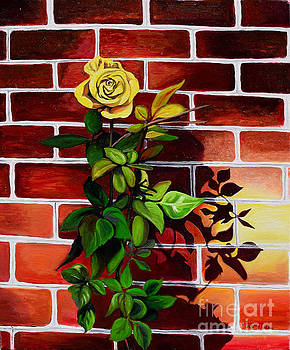 Yellow Rose by Toni  Thorne