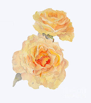 Yellow Roses by Beatrice Cloake