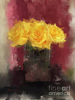 Yellow Roses by Dwayne Glapion