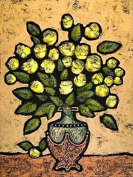 Yellow Roses by Farhan Abouassali