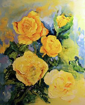 Yellow Roses by Joshua Englehaupt