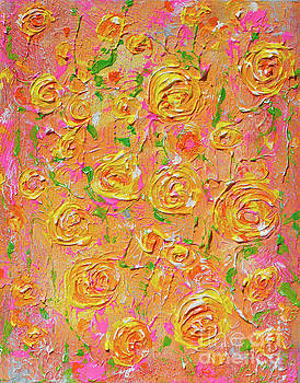 Yellow Roses of Texas by Alys Caviness-Gober