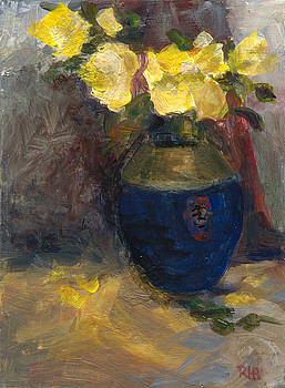 Yellow Roses by Rita Bentley