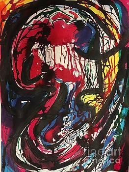 Yellow Scream by Lynne Schulte