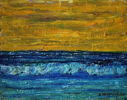 Yellow Sky by Dimitra Papageorgiou