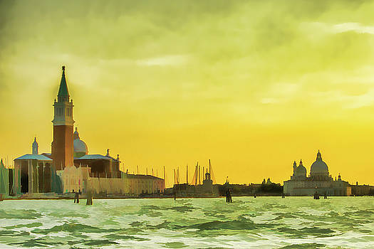 Lisa Lemmons-Powers - Yellow Sky in Venice
