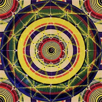 Yellow Spiral by Kym Nicolas