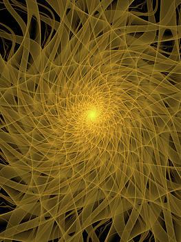 Yellow Spiral by Tim Abeln