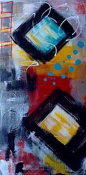 Yellow Square by Suzzanna Frank