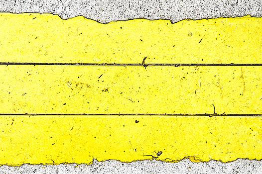 Yellow stone by Tom Gowanlock