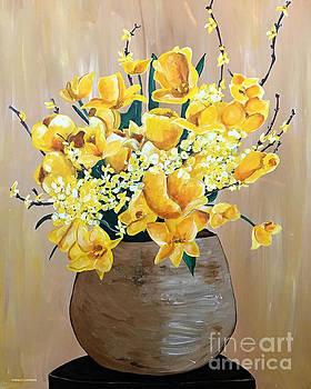 Yellow Sunshine by Trisha French