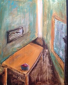 Yellow Table by Susan Gauthier