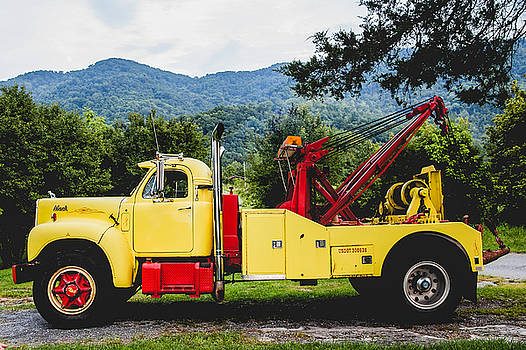 Lisa Lemmons-Powers - Yellow Tow Truck