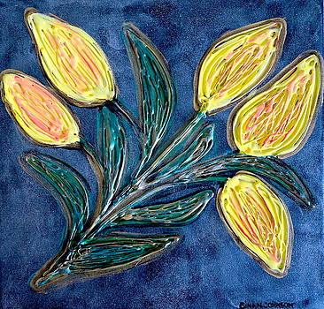 Gina Nicolae Johnson - Yellow tulips