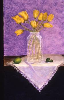 Mary Erbert - Yellow Tulips