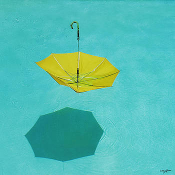 Yellow Umbrella by Craig Gum
