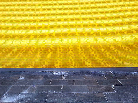 Yellow Wall by Lon Casler Bixby