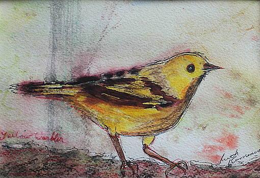 Yellow Warbler by Ruth Kamenev