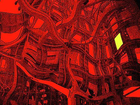 Yellow Window by Bruce Iorio