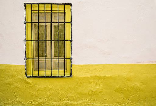 Yellowed Wall by Piet Scholten