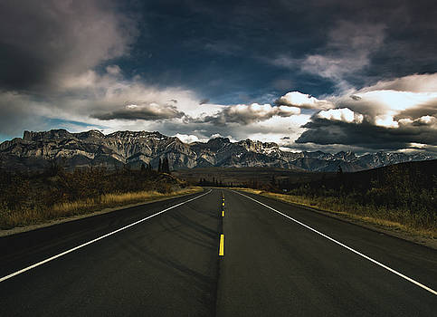 Yellowhead Highway by Cale Best