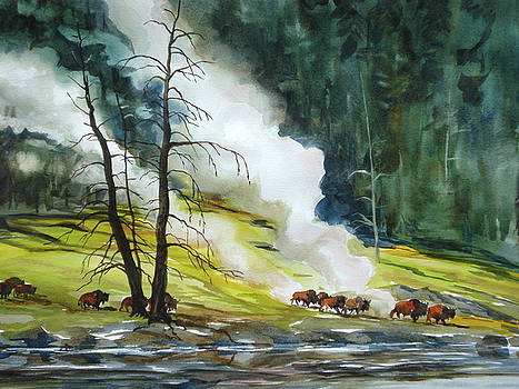Yellowstone by Bud Bullivant