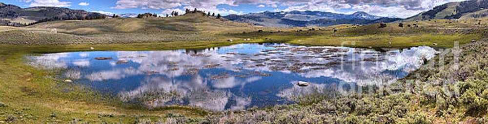 Adam Jewell - Yellowstone Cloud Ponds
