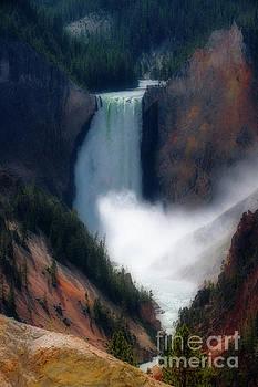 Yellowstone Falls by Jim Hatch