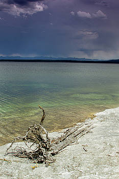 Yellowstone Lake by Dawn Romine