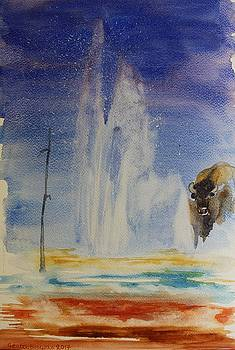 Yellowstone memories by Geeta biswas