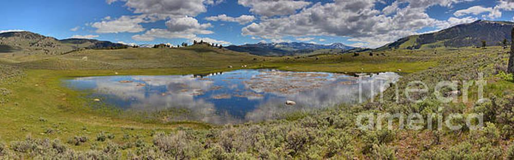 Adam Jewell - Yellowstone Reflections Of The Sky