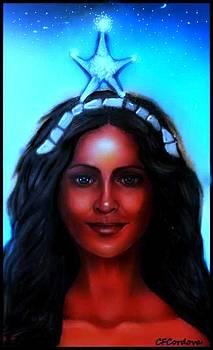 Yemaya -Mother, Goddess, Warrior by Carmen Cordova