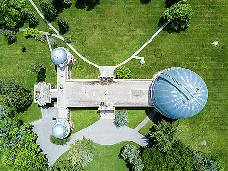 Yerkes Observatory by Randy Scherkenbach