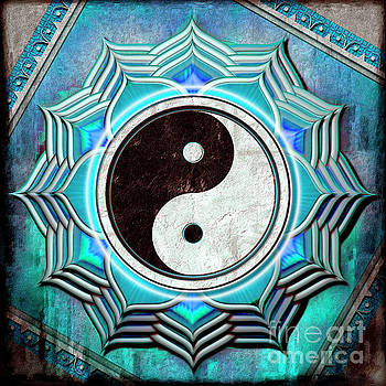 Yin Yang -  The healing of the blue chakra by Dirk Czarnota
