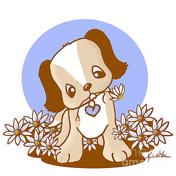 Yittle Puppy by Kim Niles