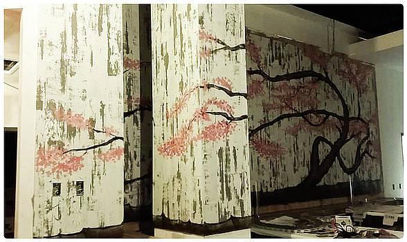 YO Sushi Mural Tampa Florida by Matt Mercer