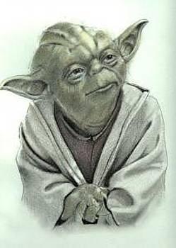 Yoda by Wanda Edwards