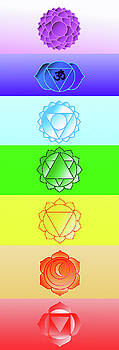 Yoga Chakra System 2 by Stephen Humphries