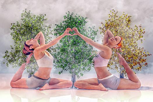 Yoga Heart by Betsy Knapp