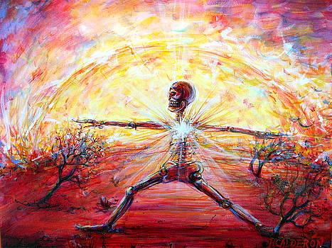 Yoga Warrior by Heather Calderon