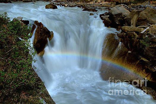 Adam Jewell - Yoho River Waterfall Rainbow