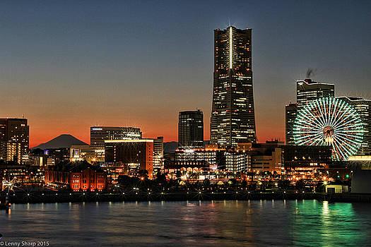 Leonard Sharp - Yokohama at dusk