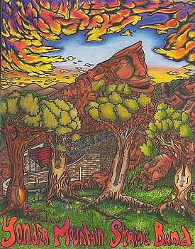 Yonder on the Rocks by Steve Weber