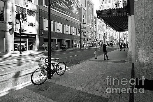 Yonge and Queen in Toronto by Colin Cuthbert