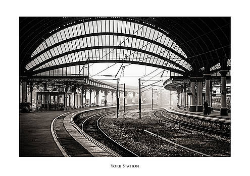 York Station by Phil Fiddyment