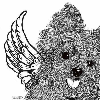 Yorkie Love by Patti Siehien