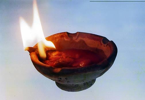 Muyiwa OSIFUYE - Yoruba Oil Lamp