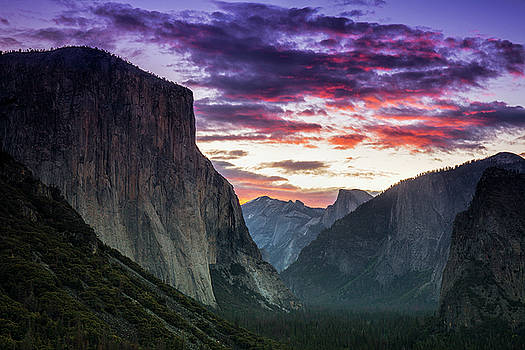 Yosemite after Sunset by Andrew Soundarajan