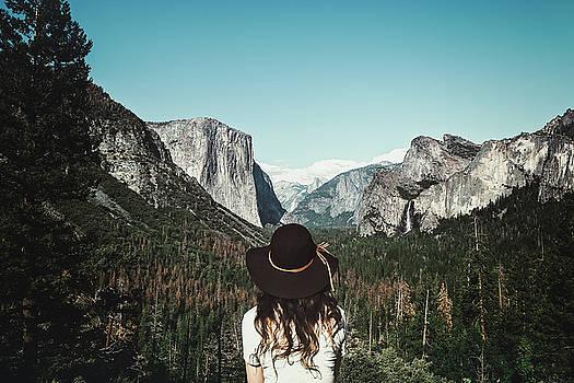 Yosemite Awe by Marji Lang
